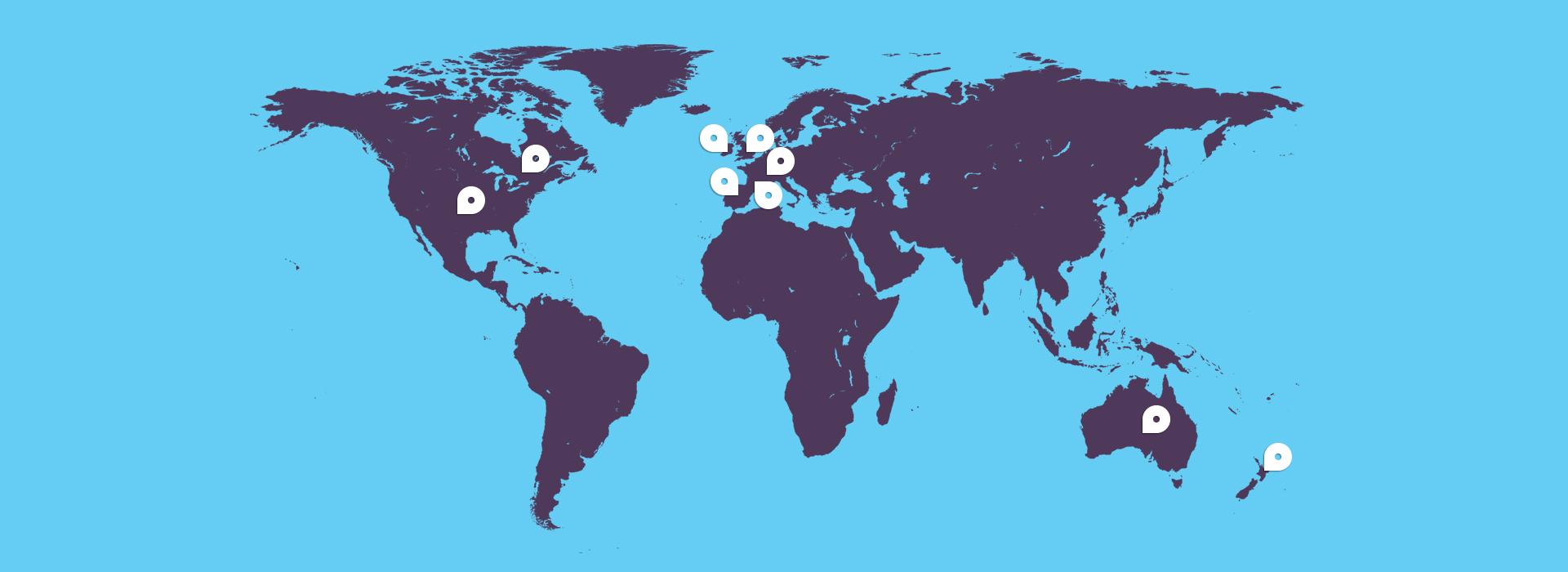 Dove Studiare all'estero - Destinazioni Anno all'estero, Diploma all'estero, Università all'estero con EduPlacements
